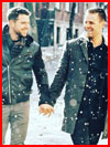 Снежная прогулка  (гей фото, блюсик 17700)