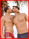 Под пальмами  (гей фото, блюсик 17789)