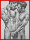 Страсти нарисованные  (гей фото, блюсик 18237)