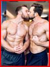 Поцелуй от души  (гей фото, блюсик 18485)