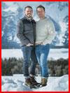 В горах  (гей фото, блюсик 18620)