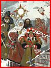 Весёлое Рождество на картинах художников  (гей фото, блюсик 18867)