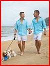 Прогулка вместе  (гей фото, блюсик 18876)