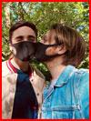Безопасный поцелуй  (гей фото, блюсик 19355)