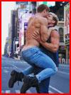 Поцелуй с разбега  (гей фото, блюсик 19674)