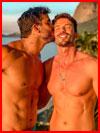 Желанный поцелуй  (гей фото, блюсик 20400)