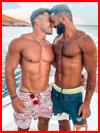 Двое на яхте  (гей фото, блюсик 21213)