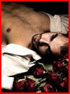 Парень и розы  (гей фото, блюсик 9113)